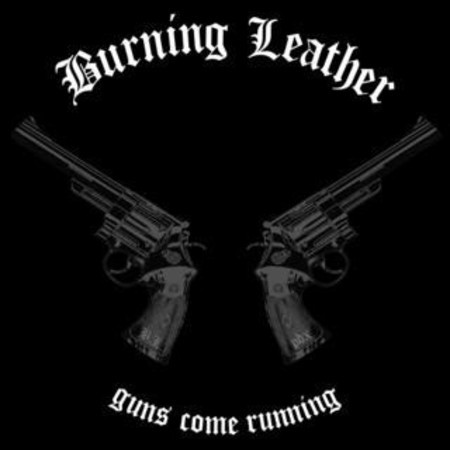 "Burning Leather / The Slowmotions ‎Split 7""EP"