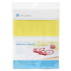 FOLHA ADESIVA DUPLA FACE - DOUBLE-SIDED ADHESIVE SHEETS - SILHOUETTE