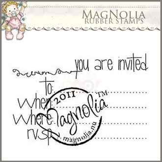 CARIMBO MAGNOLIA - INVITED