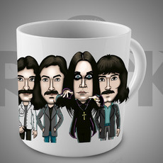 Black Sabbath - Ozzy Osbourne - Caneca Exclusiva