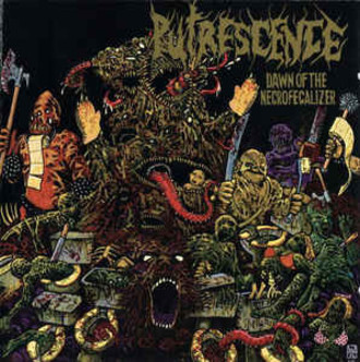 Putrescence ‎– Dawn Of The Necrofecalizer LP