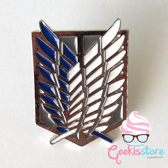Pins Attack on Titan - Shingeki no Kyojin