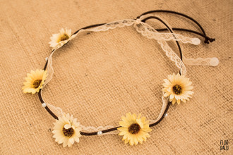 Headband Marygold com Rendinha