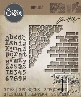 FACA SIZZIX - THINLITS - TIM HOLTZ - MIXED MEDIA #3