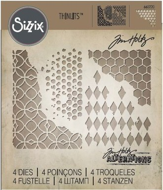 FACA SIZZIX - THINLITS - TIM HOLTZ - MIXED MEDIA