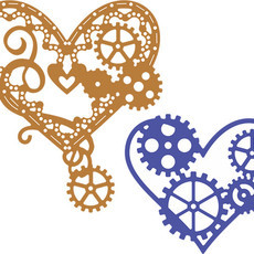 FACA CHEERY LYNN DESIGNS - HEARTS'N GEARS
