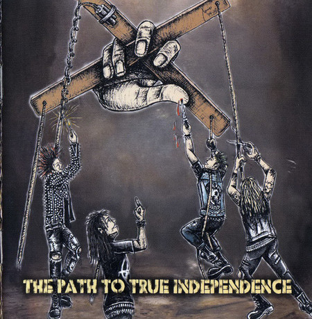 V/A 4WAY THE PATH TO TRUE INDEPENDENCE BEYOND DESCRIPTION CD