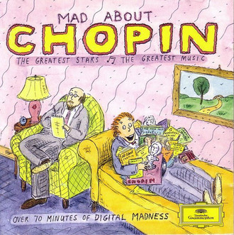 CD FRÉDÉRIC CHOPIN ‎– MAD ABOUT CHOPIN (IMPORTADO/USADO)