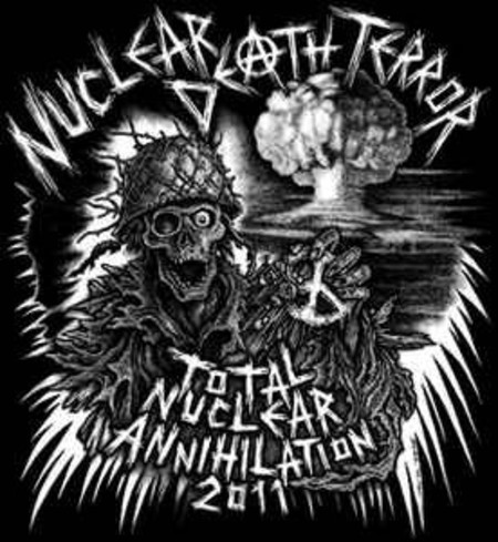 NUCLEAR DEATH TERROR Total Nuclear Annihilation 2011  CD