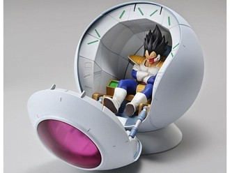 Vegeta Saiyan Space Pod Figure Rise Mechanics Bandai
