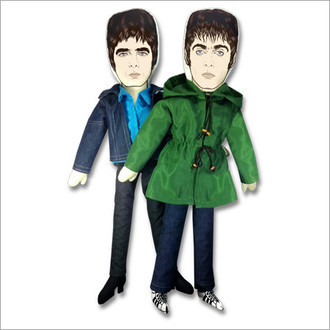 Bonecos Oasis - Liam & Noel Gallagher