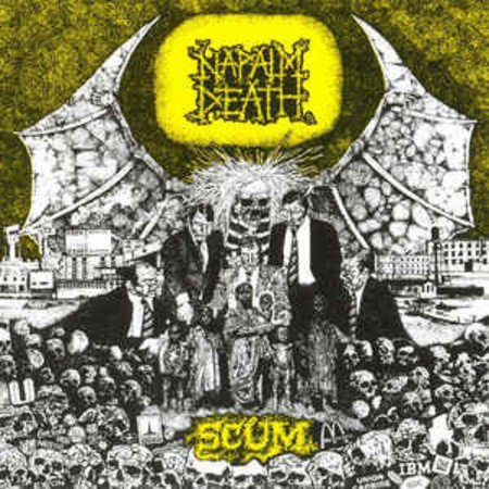 Napalm Death ‎– Scum CD (Earache ‎– MOSH 3 CD) UK 1994