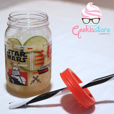 Mason Jar - Star Wars