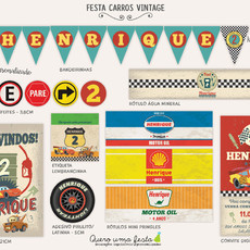 FESTA CARROS VINTAGE - KIT DIGITAL
