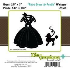 FACA DIE-VERSIONS - RETRO DRESS & POODLE