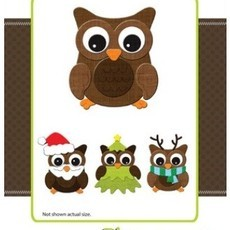 FACA DIE-VERSIONS - ANIMAIS - BUILD A OWL - CORUJA
