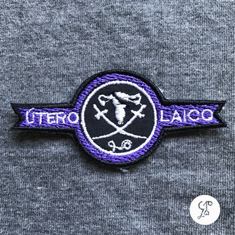 [patch] bordado termocolante - Útero Laico