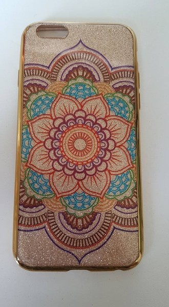 Case Mandala Glitter (IPHONE6/6S)