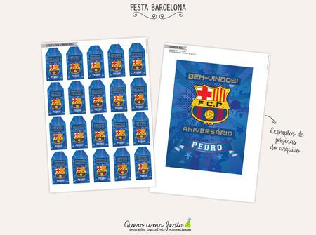 Kit Festa Barcelona