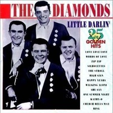 CD THE DIAMONDS - LITTLE DARLIN' (IMPORTADO/USADO)