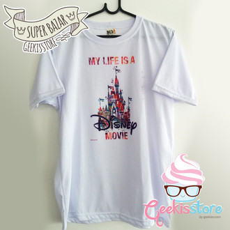[Defeito] Camiseta - Disney Movie