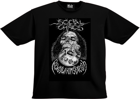 SOCIAL CHAOS - Revolutions Breath T-Shirt