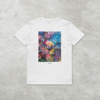 Camiseta Head Full of Dreams