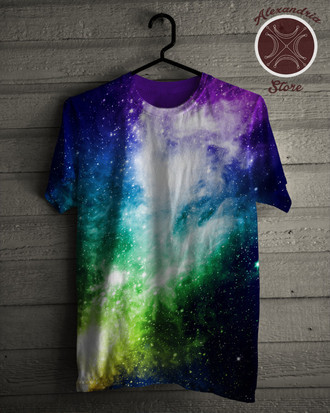 Camiseta Galaxies and Stars