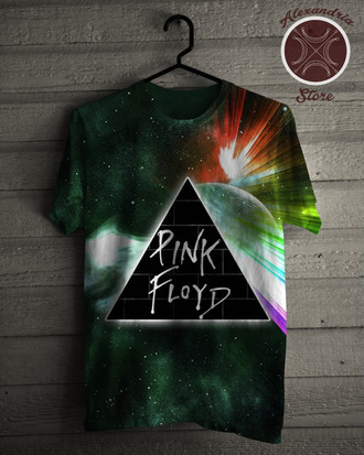 Camiseta Galaxy Behind The Wall