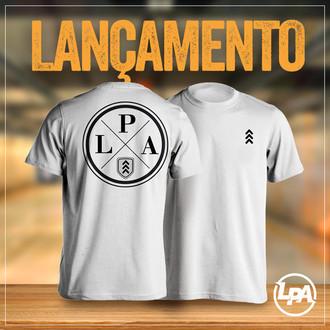 53b9b868c7 Camiseta LPA Branca - Evolution (Ganhe Brindes exclusivos LPA)