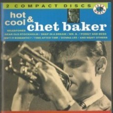 CD CHET BAKER - HOT & COOL (DUPLO/NACIONAL/USADO)