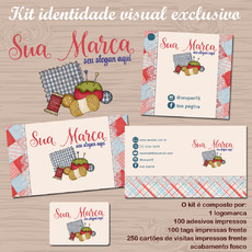 Kit identidade visual COSTURA