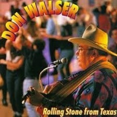 CD DON WALSER - ROLLING STONE FROM TEXAS (IMPORTADO/USADO)