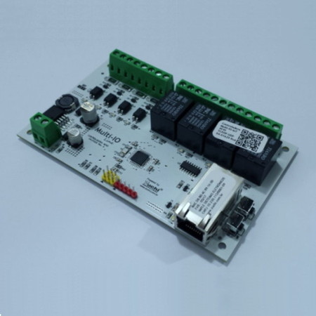 PLACA CONTROLADORA C/ INTERFACE ETHERNET WIRED 4 ENTRADAS 4 SAÍDAS