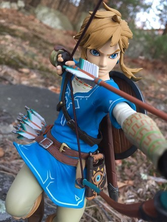 First 4 Figures The Legend of Zelda Breath of The Wild Link