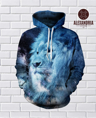 Moletom Lion Galaxy