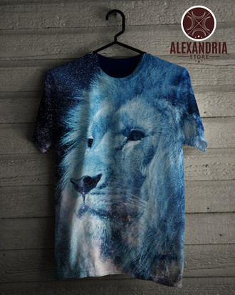 Camiseta Lion Galaxy