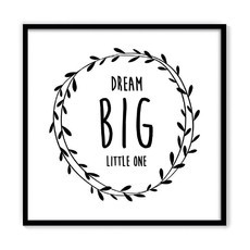 [ quadro dream big ]