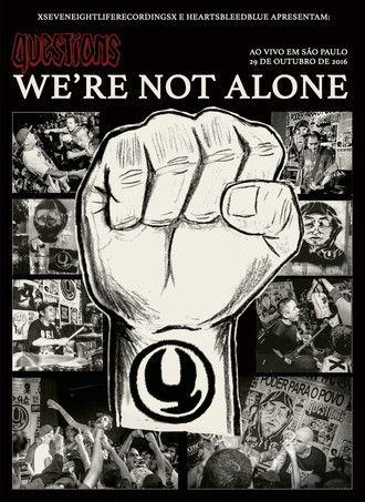 DVD QUESTIONS - WE'RE NOT ALONE (NOVO/LACRADO) (HBB)