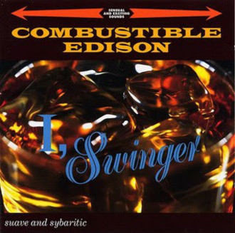 CD COMBUSTIBLE EDISON ‎- I, SWINGER (USADO)