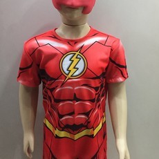 Fantasia The Flash Infantil Curto - Barão das Mágicas