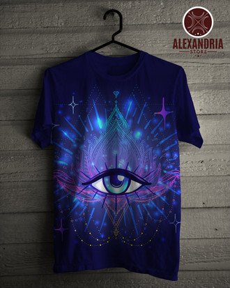 Camiseta Eye Lotus