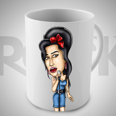 Amy Winehouse- Caneca Exclusiva