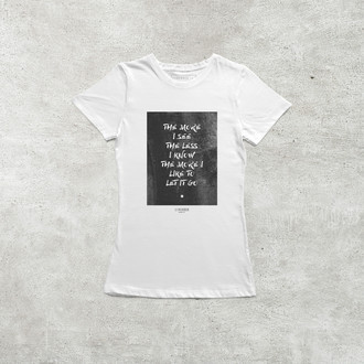 Camiseta Snow (Hey Oh) [Feminina]