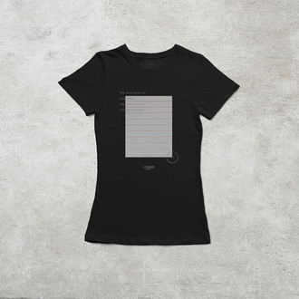 Camiseta The Wall [Feminina]