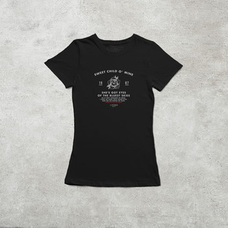 Camiseta Sweet Child o' Mine [Feminina]