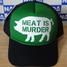 Boné Meat is Murder vegan Nada Wear