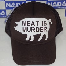Boné Meat is Murder Marrom Nada Wear
