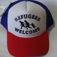 Boné Refugees Welcome Refugiados Nada Wear