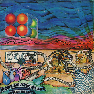"LP PERFUME AZUL DO SOL - ""NASCIMENTO"""